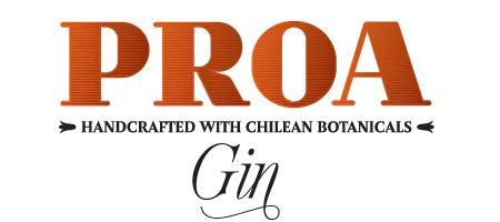 Logo Gin chileno Proa